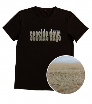 Футболка с принтом Seaside days
